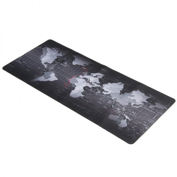 world map gaming mouse pad