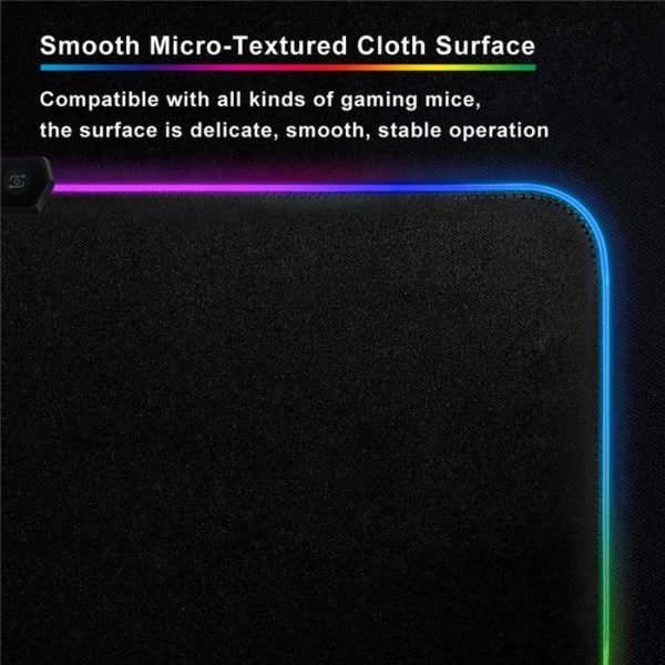 RGB mouse pad