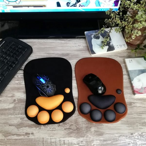 cat claw mouse pad