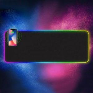 rgb wireless charging mouse pad