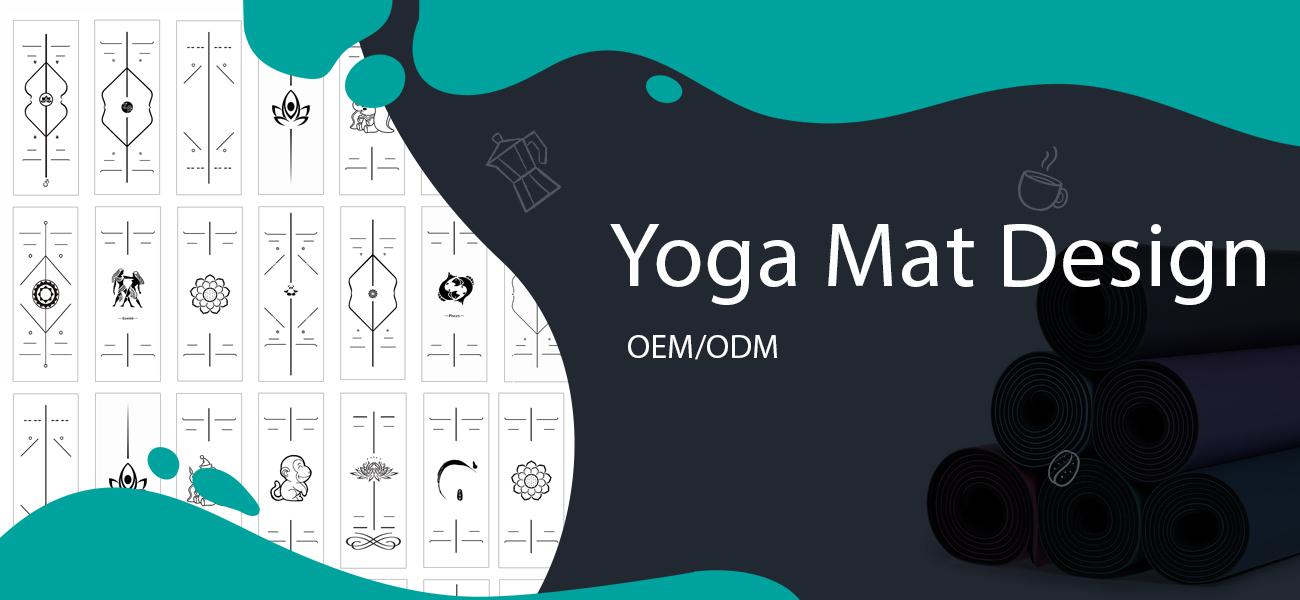 yoga mat design oem service