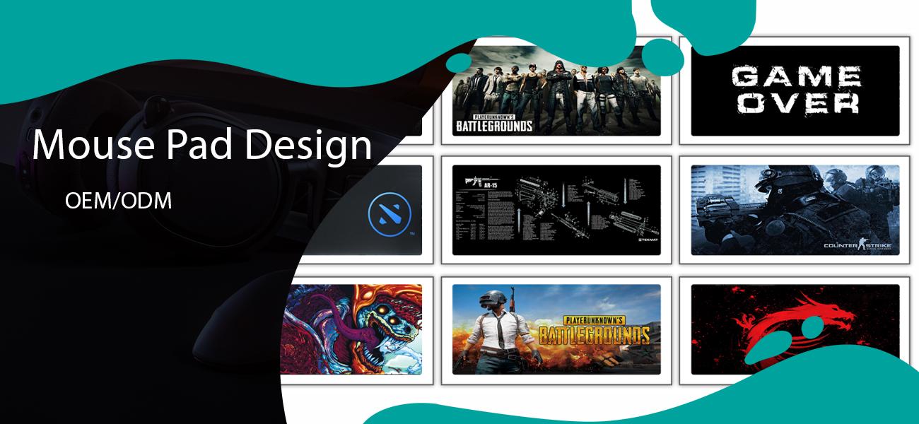 mouse pad design oem service