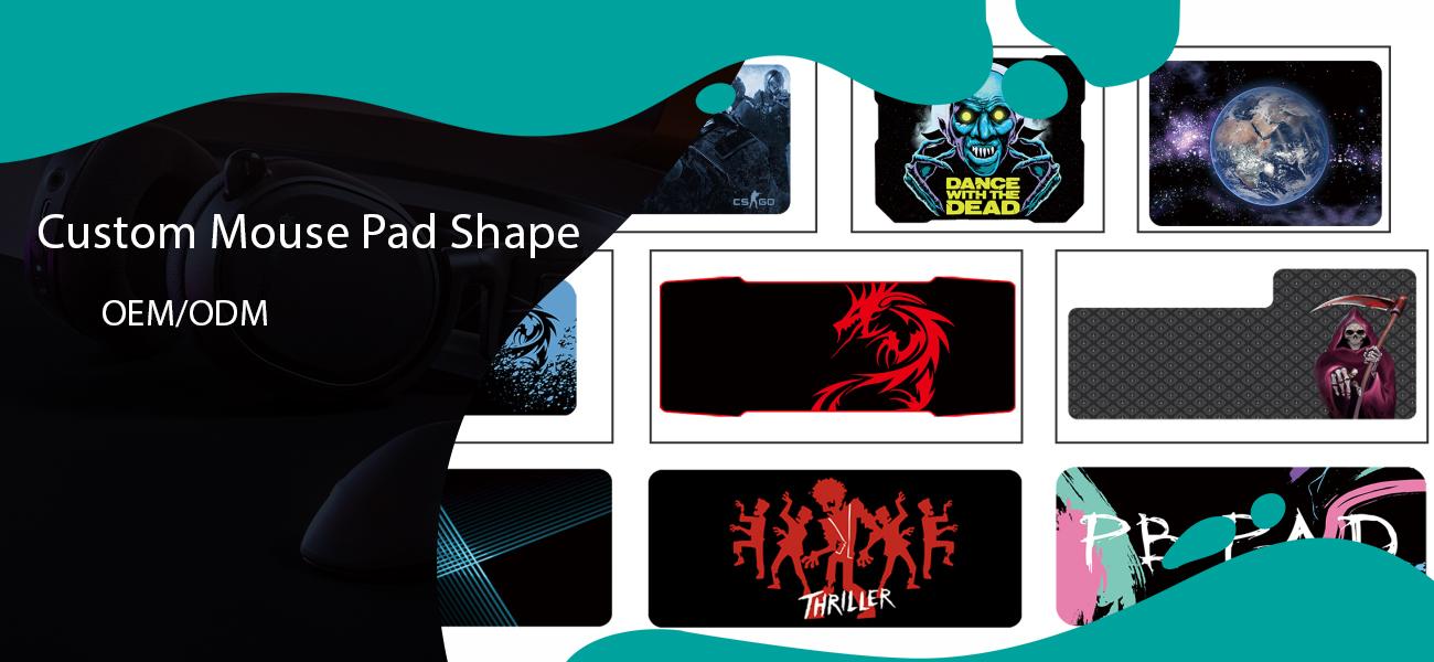 mouse pad shape oem service