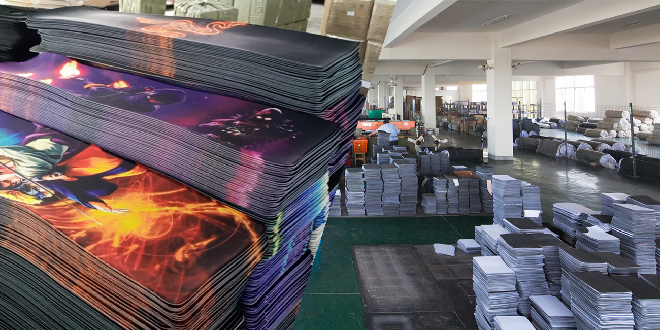 mouse pad factory