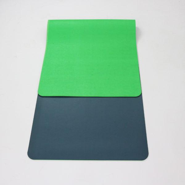 GREEN/GREY YOGA MAT