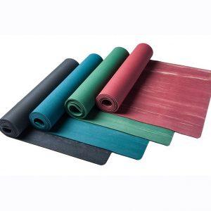 rubber yoga mat